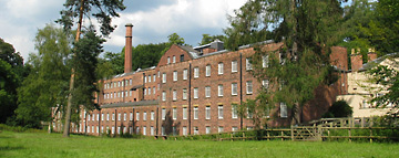 Quarry Bank Mill, still producing authentic Victorian cotton fabric